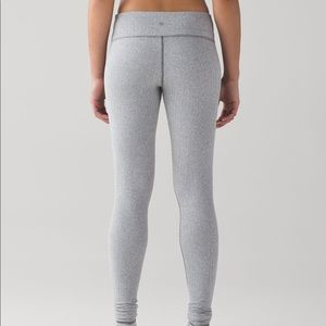 Lululemon Ghost Herringbone Leggings